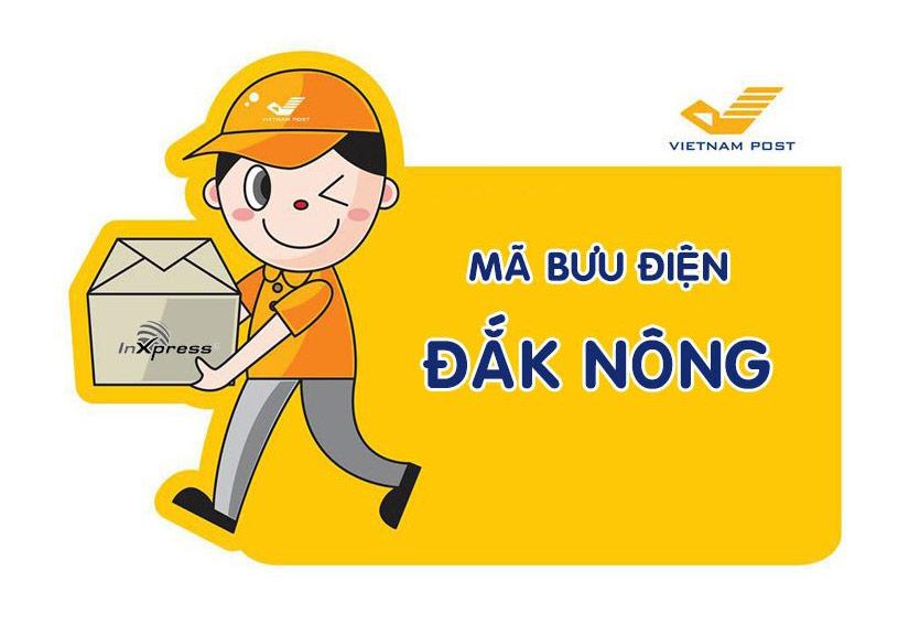 Mã bưu điện Đăk Nông – Zip/Postal Code các bưu cục tỉnh Đăk Nông