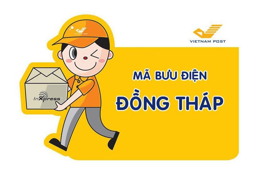 Mã bưu điện Đồng Tháp – Zip/Postal Code các bưu cục tỉnh Đồng Tháp