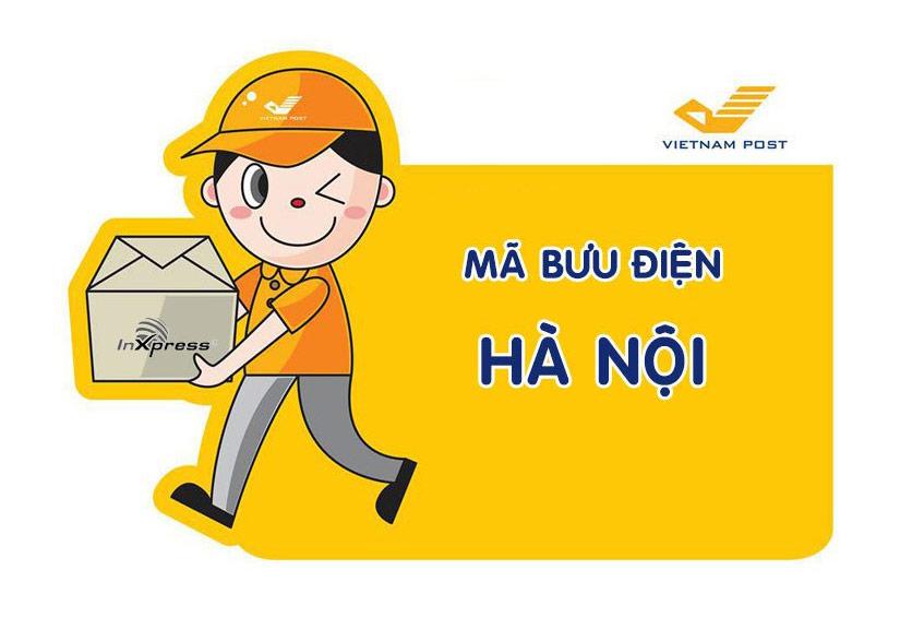 Mã bưu điện Hà Nội – Zip/Postal Code các bưu cục TP. Hà Nội