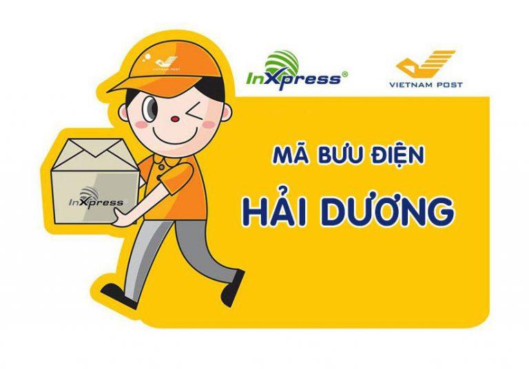 Mã bưu điện Hải Dương – Zip/Postal Code các bưu cục tỉnh Hải Dương