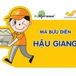 Mã bưu điện Hậu Giang – Zip/Postal Code các bưu cục tỉnh Hậu Giang