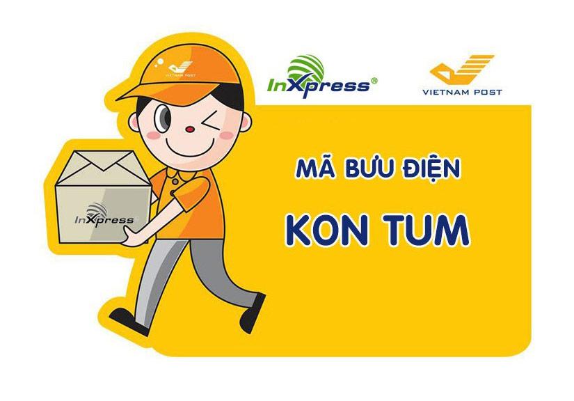 Mã bưu điện Kon Tum – Zip/Postal Code các bưu cục tỉnh Kon Tum