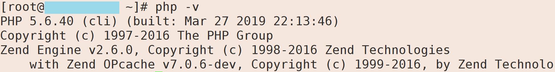 php -v - Opcache-zend-Cài đặt OPcache lên server Directadmin chạy CustomBuild 2.0