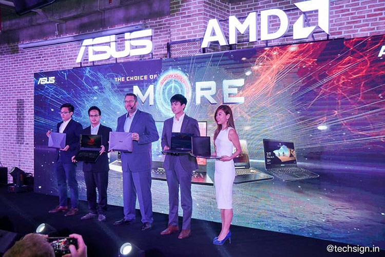 """ASUS vừa công bố chính thức hợp tác chiến lược cùng AMD trong sự kiện chủ đề """"The Choice of MORE"""", đồng thời giới thiệu loạt laptop trang bị nền tảng AMD Ryzen Mobile."""