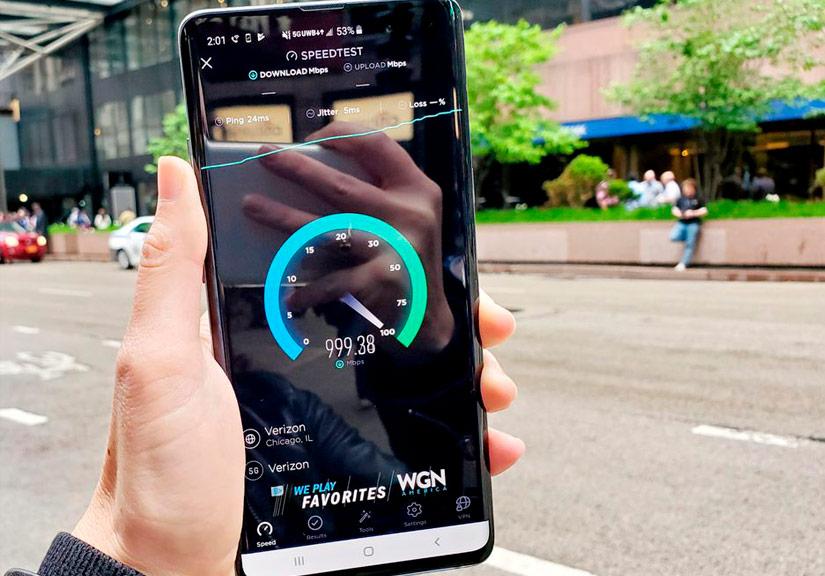 Thử nghiệm tốc độ mạng 5G tại Mỹ: down phim 10 tiếng chất lượng 4K chỉ trong 5 phút