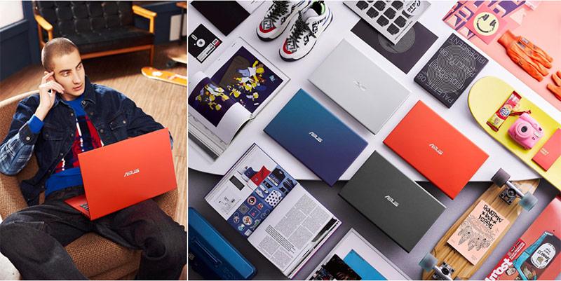 4 màu sắc quyến rũ của Asus VivoBook 14/15.