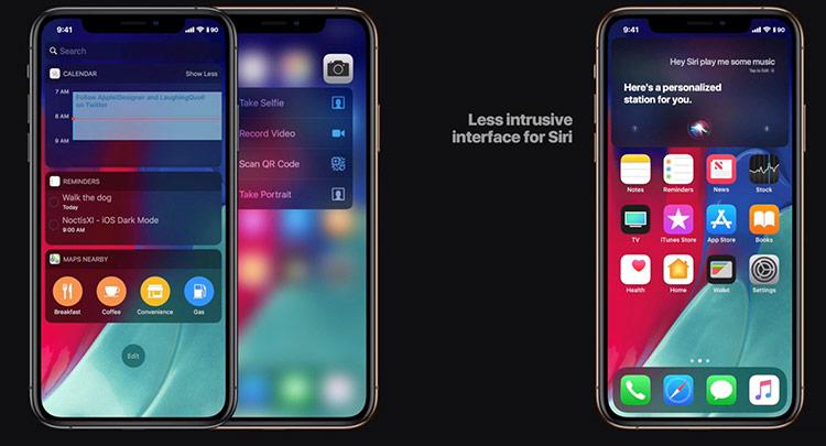 """Siri sẽ giao tiếp """"tự nhiên"""" hơn - Apple cho biết hãng đã nâng cấp Siri giúp trợ lý ảo này hoạt động thông minh và có ngôn ngữ tự nhiên hơn. Thay vì hướng dẫn """"rẽ trái ở khoảng cách 500 m"""" như trước, Siri sẽ sử dụng những cụm từ gần gũi, thân thiện hơn với con người hơn như """"rẽ trái ở đèn giao thông tiếp theo""""."""