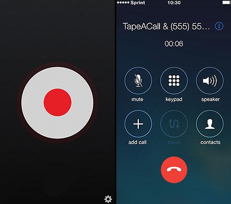 TapeACall là một trong số ít các ứng dụng hỗ trợ ghi âm cuộc gọi iPhone
