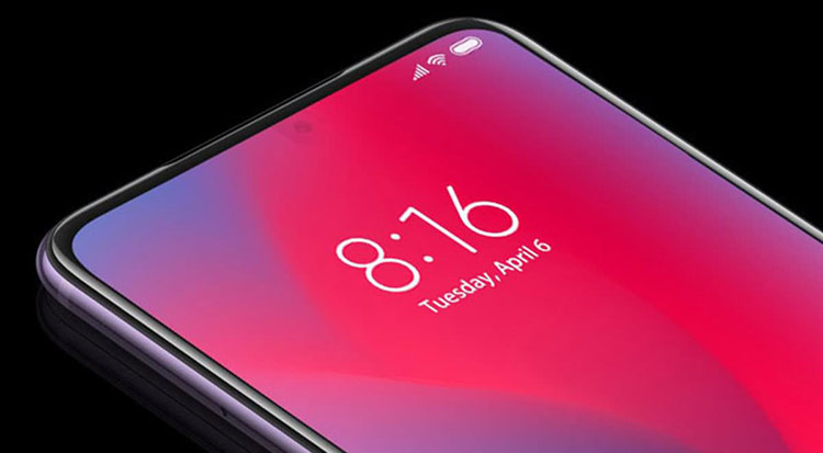 Xiaomi cho biết đã tích hợp được camera trước vào phía dưới màn hình. Ảnh: Xiaomi.