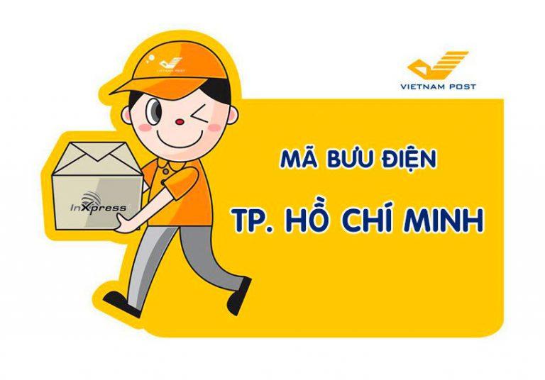 Mã bưu chính TP. Hồ Chí Minh – Zip/Postal Code các bưu cục TP. Hồ Chí Minh