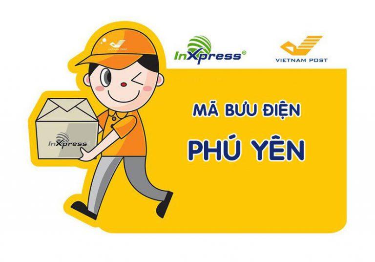 Mã bưu điện Phú Yên – Zip/Postal Code các bưu cục Phú Yên