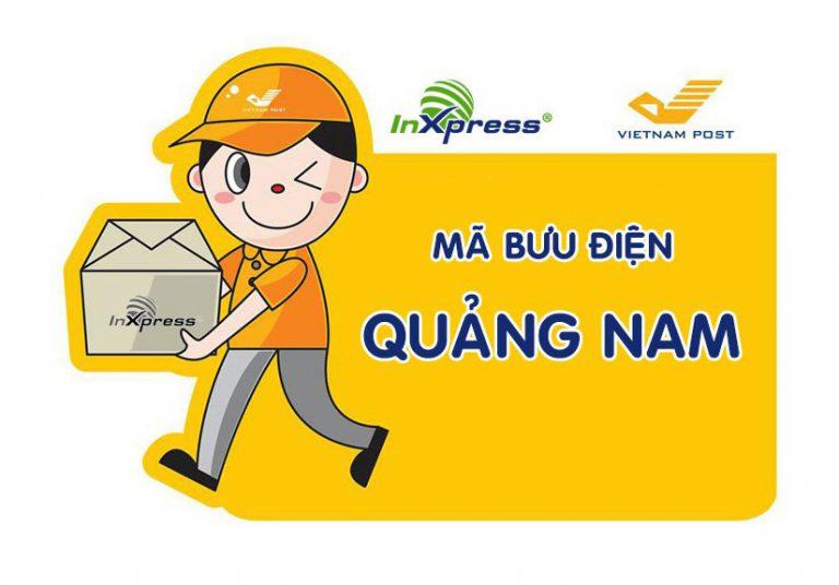 Mã bưu điện Quảng Nam – Zip/Postal Code các bưu cục Quảng Nam