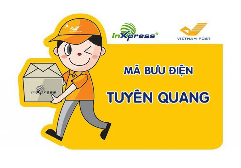 Mã bưu điện Tuyên Quang – Zip/Postal Code các bưu cục Tuyên Quang