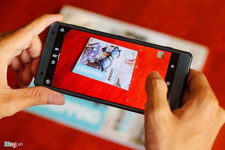 Xperia XZ2 là mẫu di động cao cấp cuối cùng Sony bán ra tại Việt Nam trước khi rút khỏi thị trường. Ảnh: Lê Trọng.