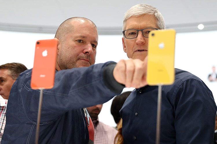 iPhone XR với nhiều tùy chọn màu