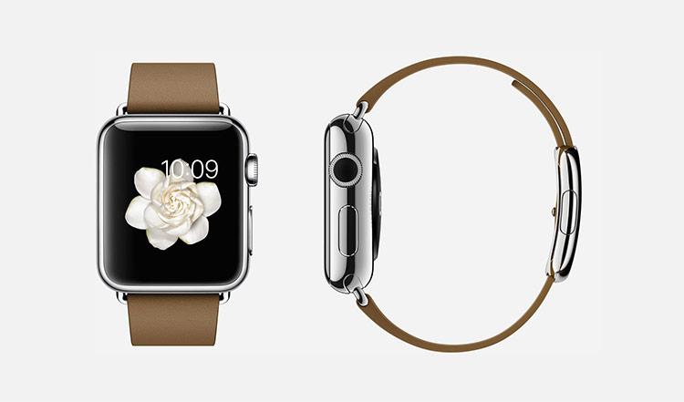 Hoạt cảnh trên Apple Watch được chụp từ bông hoa thật trong hàng trăm giờ.