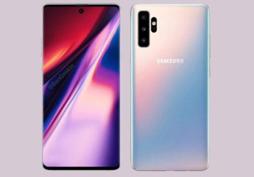Thiết kế Samsung Galaxy Note 10 sẽ trông như thế nào?