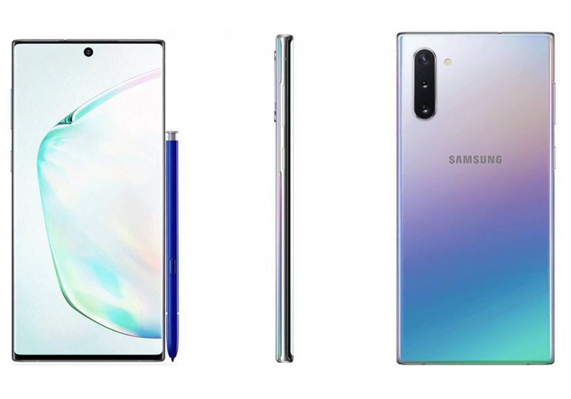Bộ đôi Samsung Galaxy Note 10 lộ ảnh chính thức