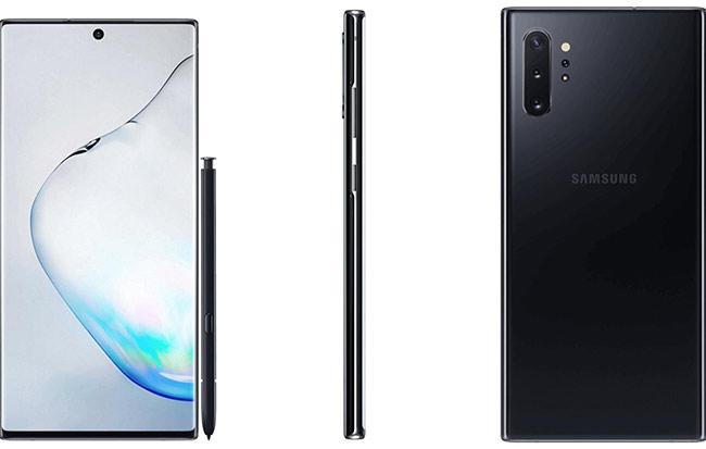 Galaxy Note 10+ phiên bản màu đen.