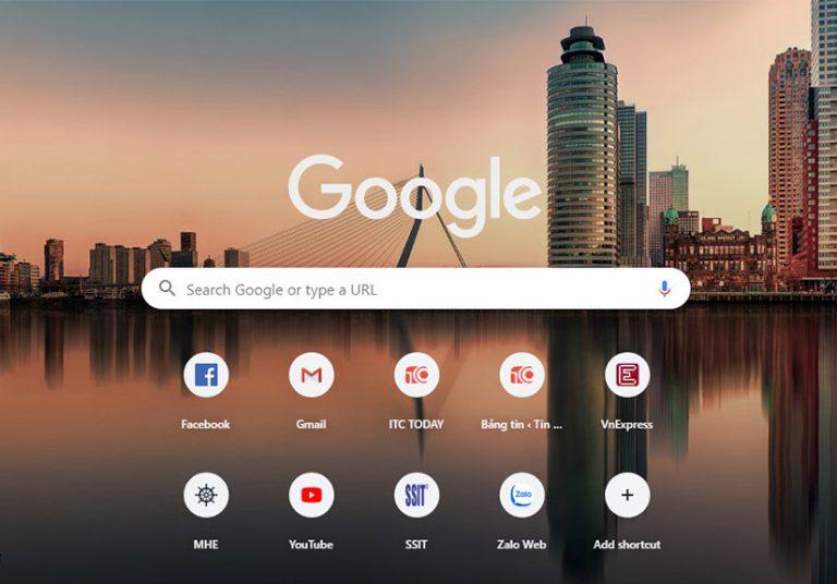 Cách thay đổi hình nền Google Chrome trong 1 phút