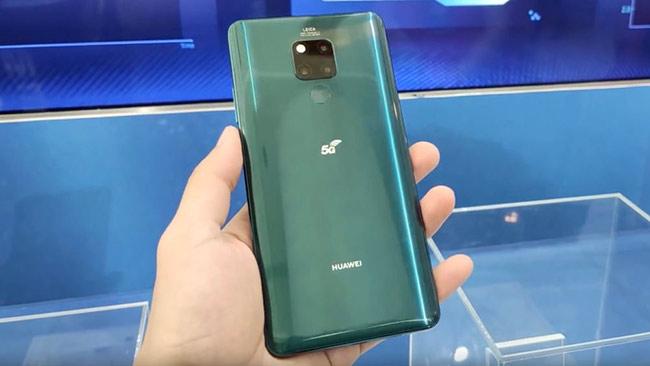 Điện thoại 5G đầu tiên của Huawei sẽ bán trong tháng này