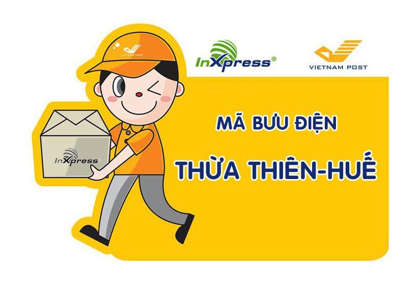 Mã bưu điện Thừa Thiên Huế – Zip/Postal Code các bưu cục Thừa Thiên Huế