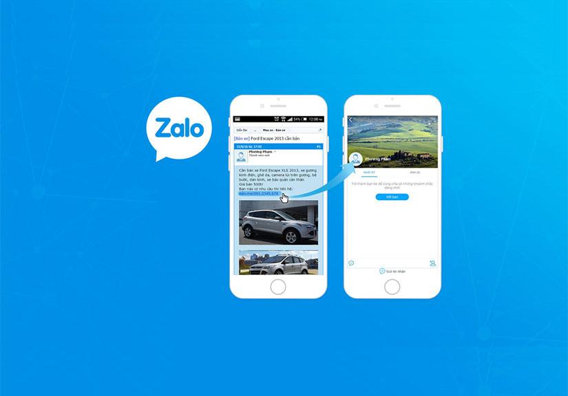 Tên miền Zalo.vn và Zalo.me bị yêu cầu thu hồi