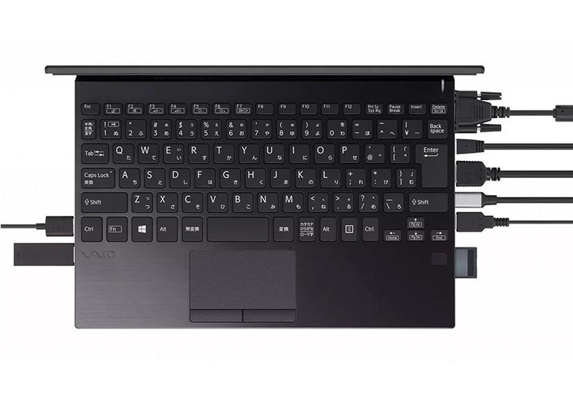 Vaio ra laptop mỏng nhẹ như MacBook Air