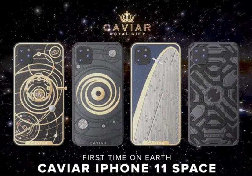 Công ty Nga rao iPhone 11 phiên bản đính kim cương giá gần 50.000 USD