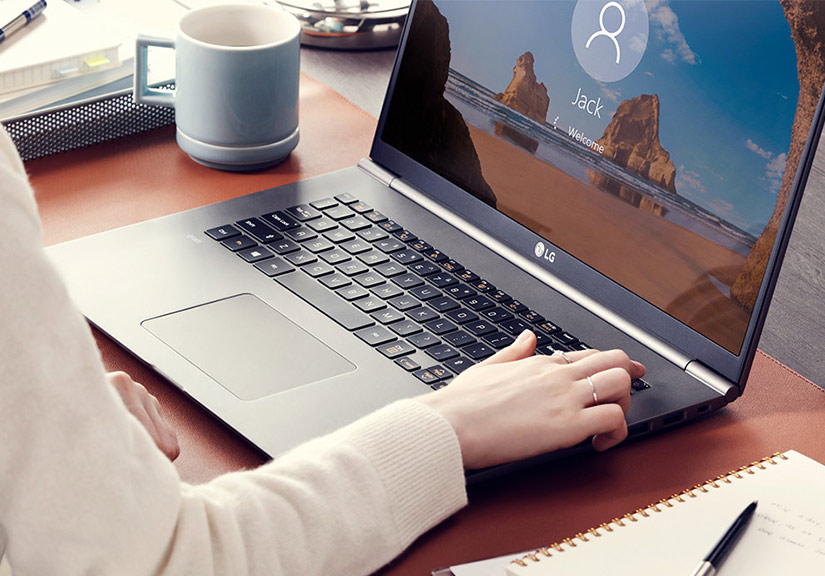 LG trình làng laptop gram 17 inch nhẹ nhất thế giới