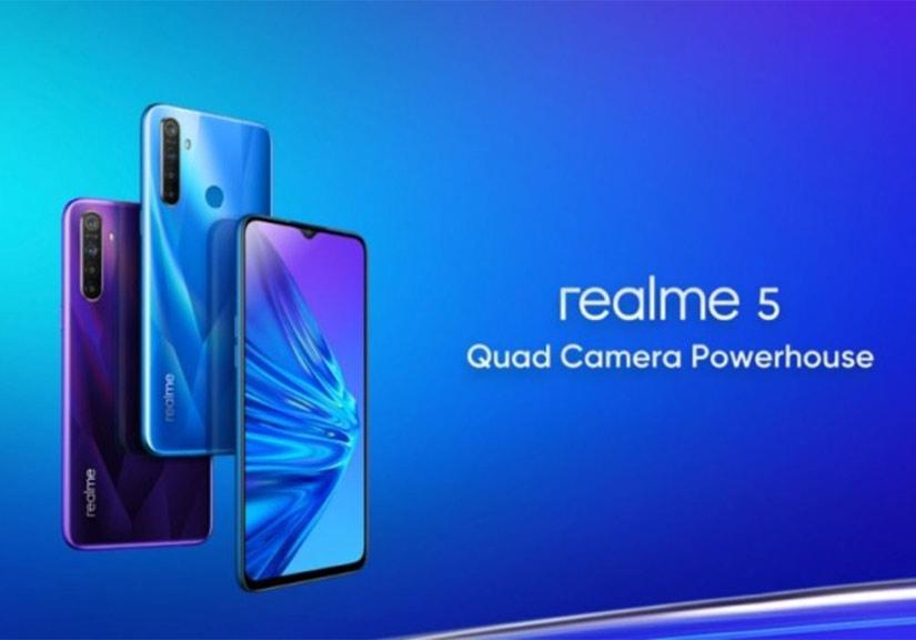 Realme 5 và 5 Pro ra mắt với 4 camera, giá cực chất
