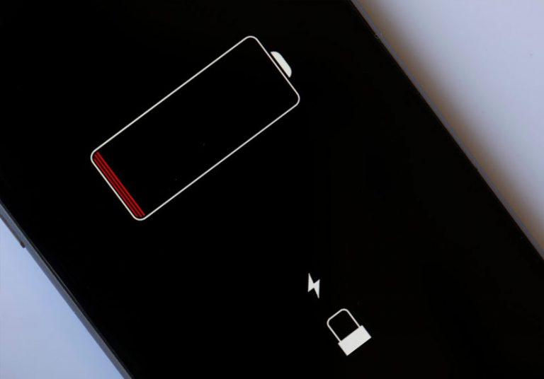 Tại sao biểu tượng viên pin vẫn xuất hiện dù iPhone không còn chút pin nào