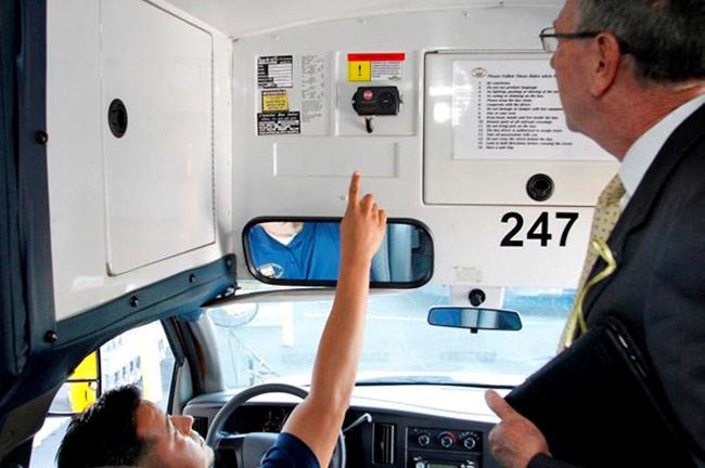 Hiện nay nhiều xe được lắp đặt camera, cho phép người quản lý nắm bắt theo thời gian thực tình hình trên xe và xung quanh xe