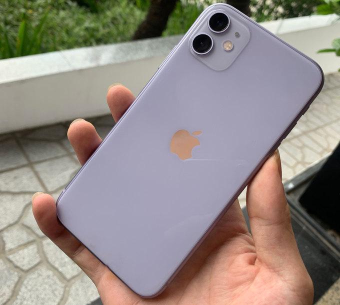 thiết kế tổng thể của iPhone 11 giống iPhone XR