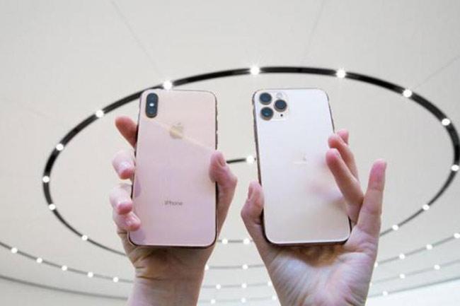 iPhone mới có bộ nhớ trong từ 64 GB, nếu muốn dùng bản 256 GB khách hàng phải trả thêm 4 triệu đồng.