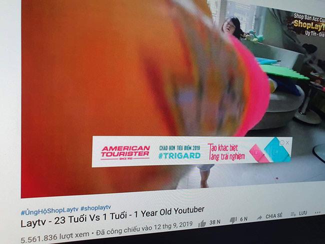 Quảng cáo YouTube hiện trên video hướng dẫn trẻ nghịch ổ điện, đây là nguồn thu nuôi sống những kênh có nội dung nguy hiểm, giật gân, câu view.