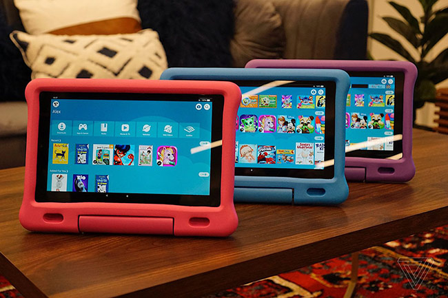 Amazon ra mắt máy tính bảng Fire HD 10 mới, hỗ trợ USB-C