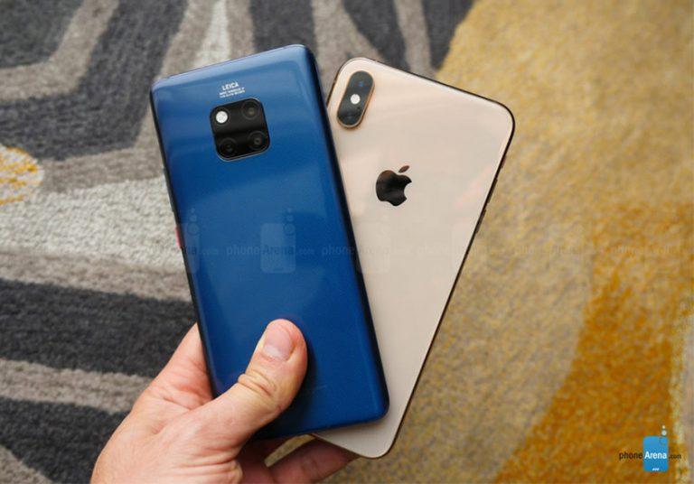 Apple sẽ giành lại ngôi á quân từ Huawei