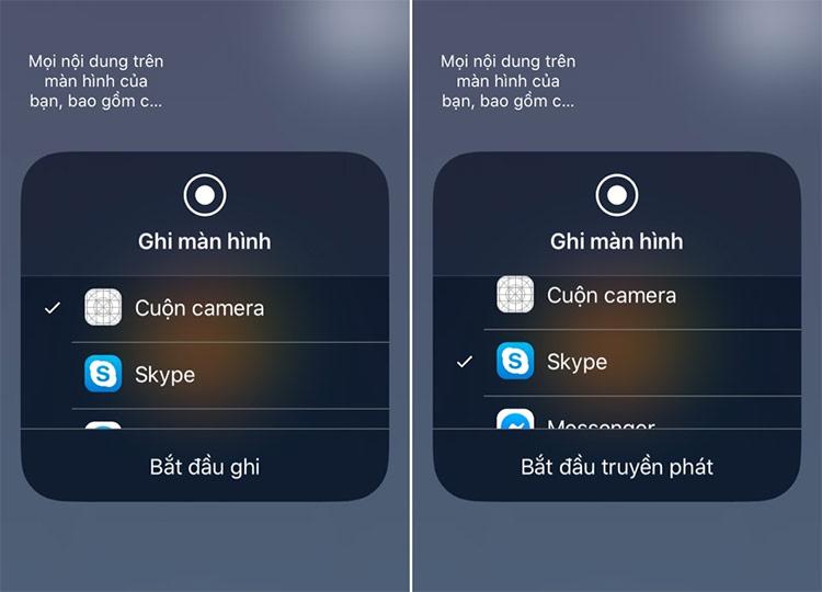Sau khi màn hình đã được chia sẻ, bạn có thể điều hướng điện thoại và bất kỳ thứ gì có trên màn hình của bạn đều sẽ được chia sẻ qua cuộc gọi.