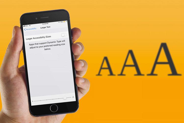 Cách tăng cỡ chữ trên iPhone và iPad để dễ đọc hơn