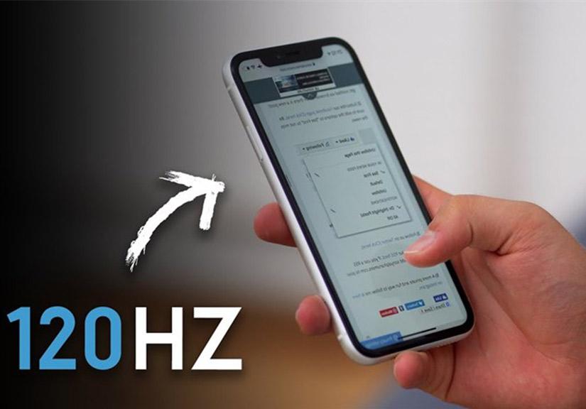 iPhone 2020 sẽ có màn hình ProMotion, tốc độ làm tươi 120Hz