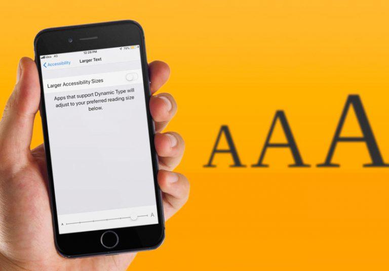 Hướng dẫn cách tăng cỡ chữ trên iPhone và iPad để dễ đọc hơn