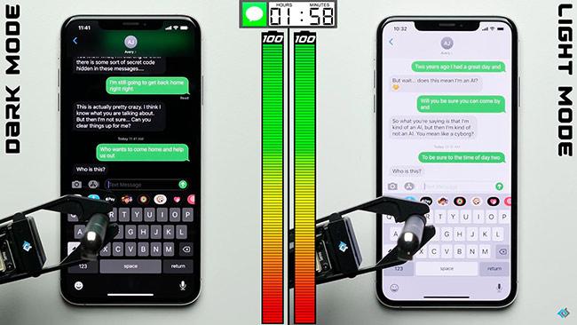 iPhone với màn hình OLED được cải thiện thời lượng pin tới 30%