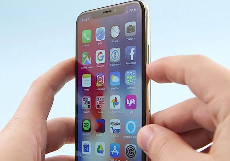 Nút nguồn iPhone X phản ánh sự phát triển của smartphone