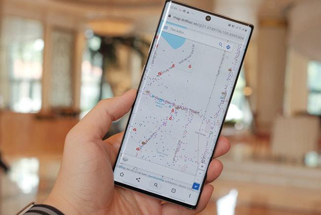 Bản đồ Vmap hiện hoạt động trên nền web, sắp có phiên bản ứng dụng cho smartphone.