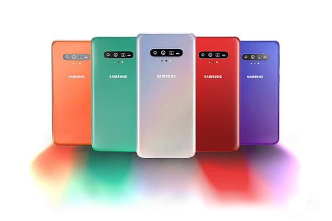 Galaxy S11 sẽ được bán ra với 5 tùy chọn màu sắc gồm đỏ, cam, xanh, tím và bạc.
