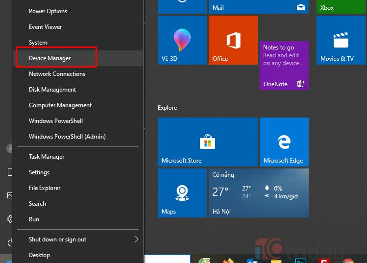 Cập nhật lại Driver Fingerprint qua Device Manager để sửa chữa Windows hỏng chức năng Windows Hello