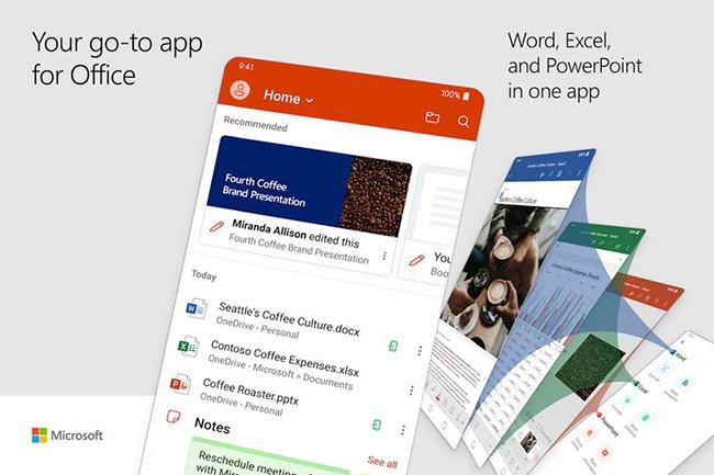 Microsoft ra mắt ứng dụng Ofice: Word, Exel, PowerPoit & more