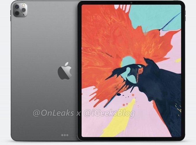 Theo iGeekblog, dòng máy tính bảng cao cấp nhất của Apple thiết kế viền màn hình mỏng tối đa và mặt lưng gia công bằng chất liệu kính hoặc kim loại
