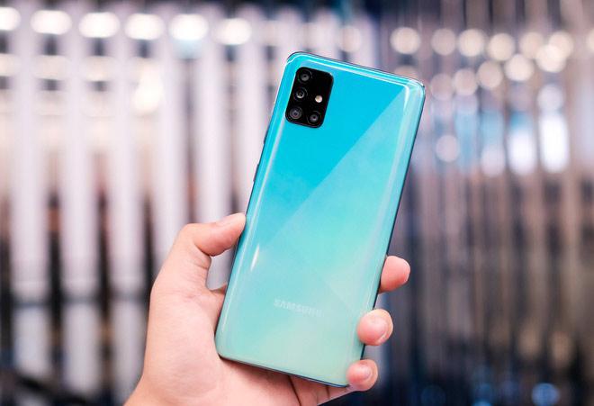 Samsung Galaxy A51 (8 triệu đồng)